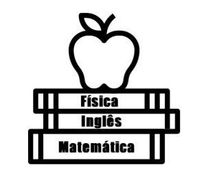 Física, Matemática e Inglês